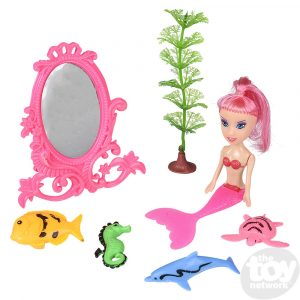 Mermaid Doll Set