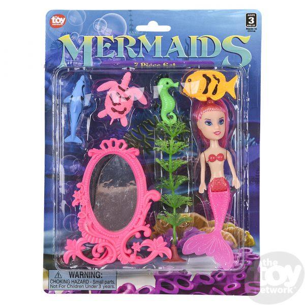 Mermaid Doll Set
