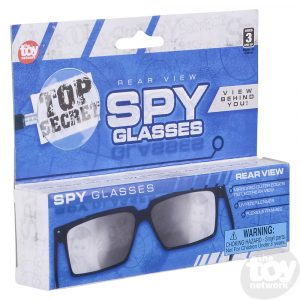 Spy Look Behind Glasses