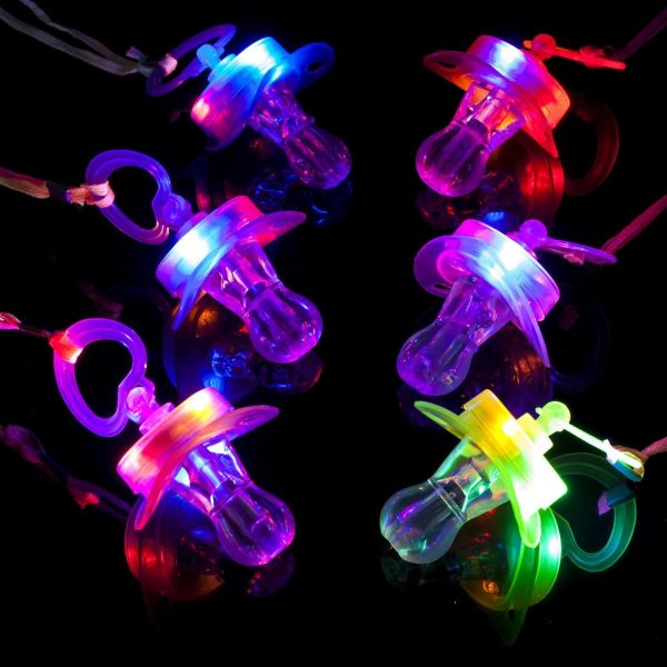 LED Novelty Light Up Pacifiers