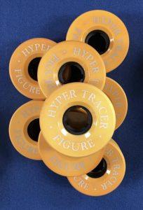 Vintage Hyper Tracer Figure Wheels