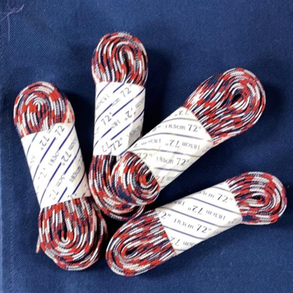 Red White And Blue Roller Skate laces